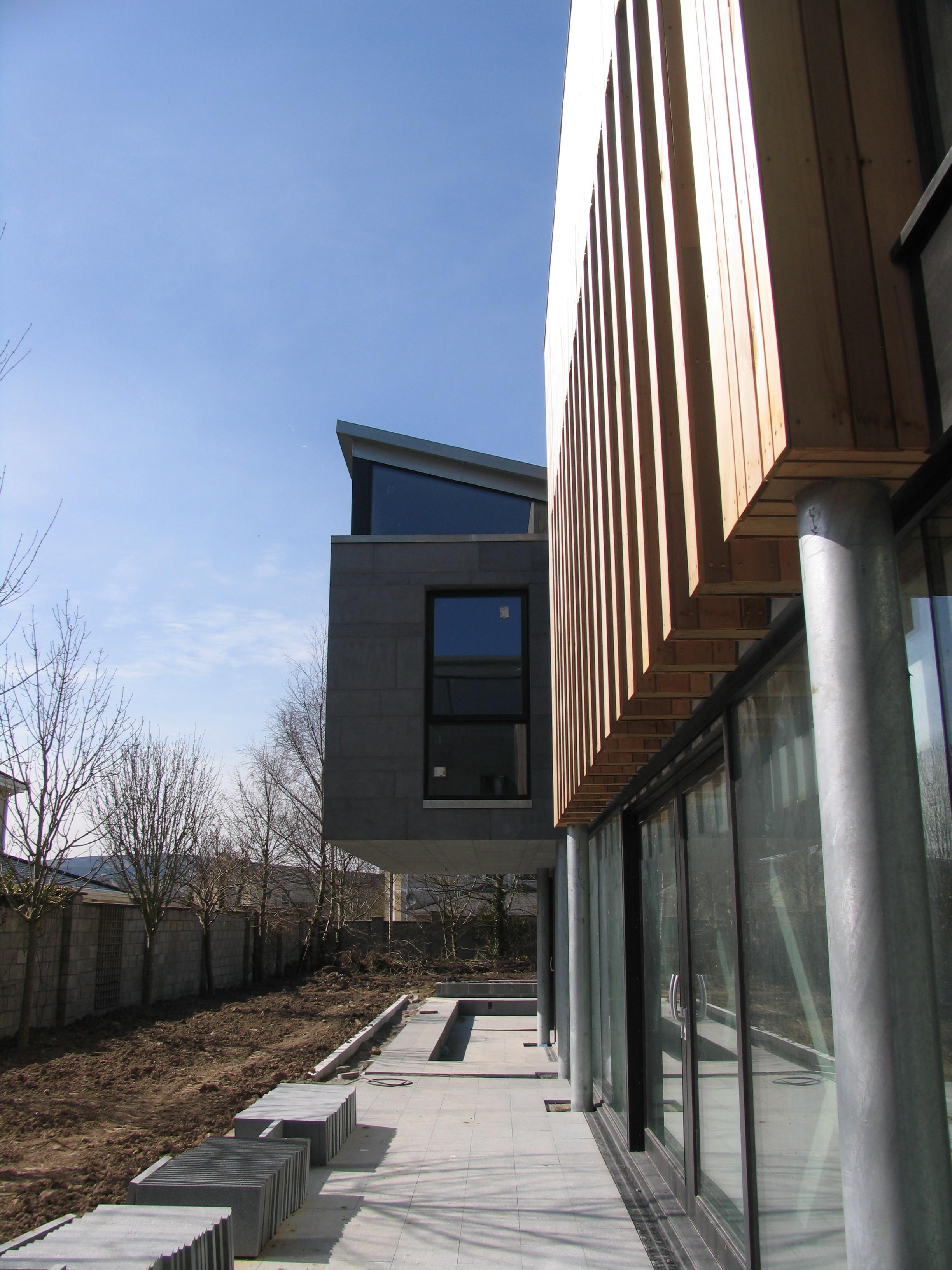 south facing patio