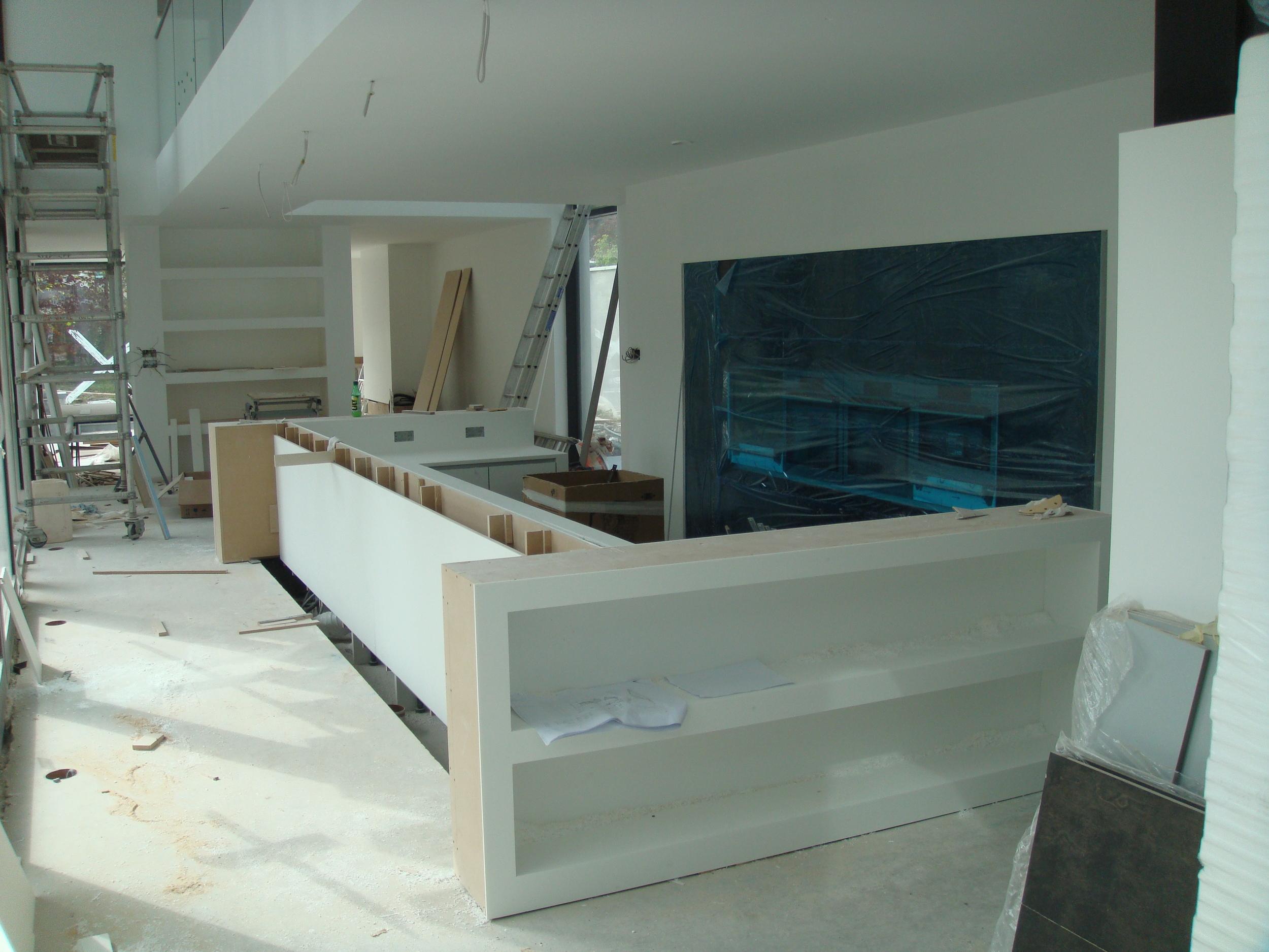 kitchen starting to take shape
