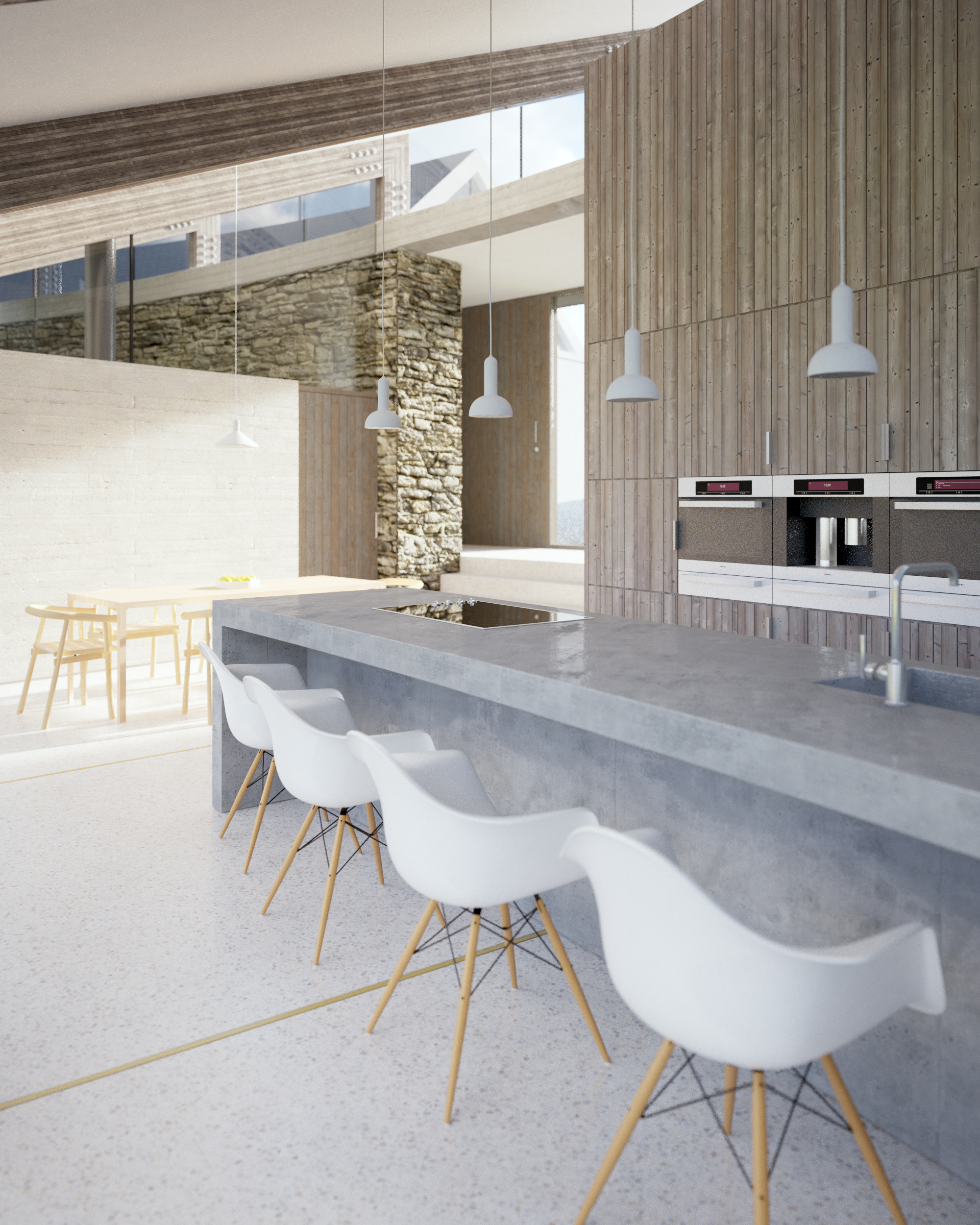 kitchen dining in kilrea project