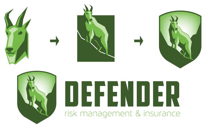 mountain goat shield logo