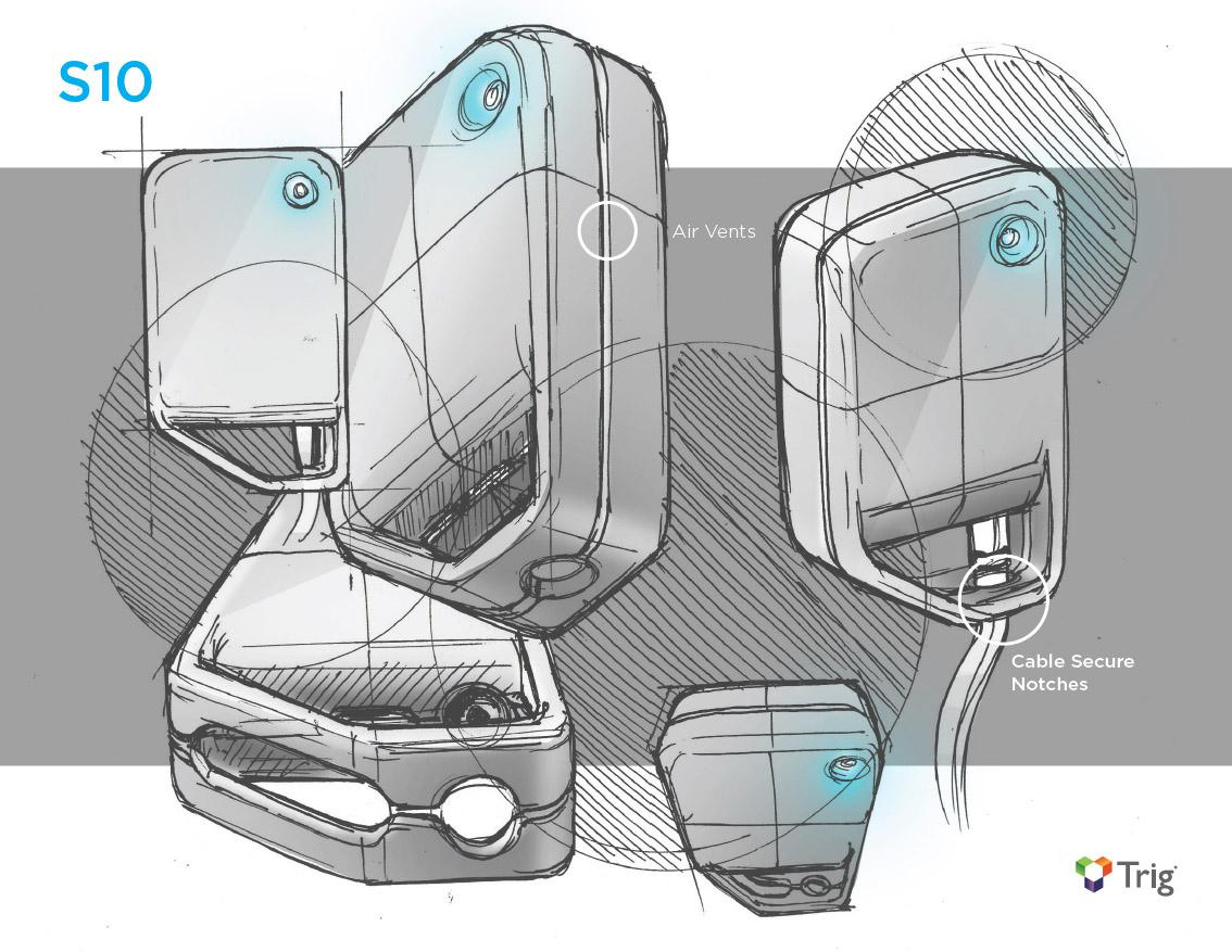 Industrial Design Concept Sketch