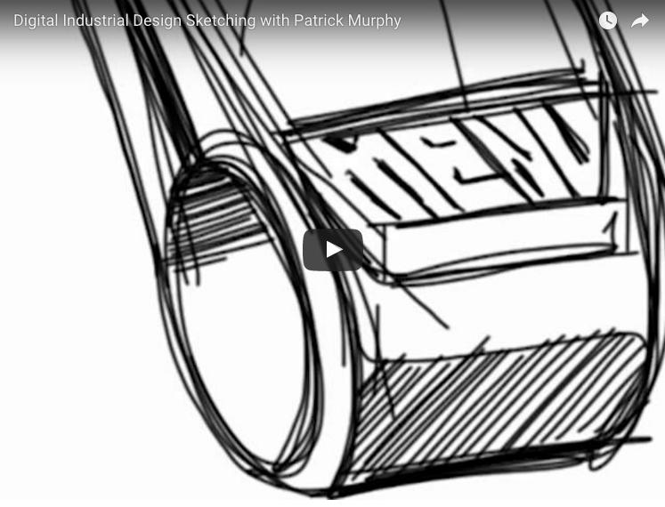Design Sketching With Patrick Murphy