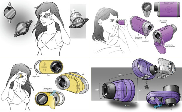 Sunscreenr industrial design sketches
