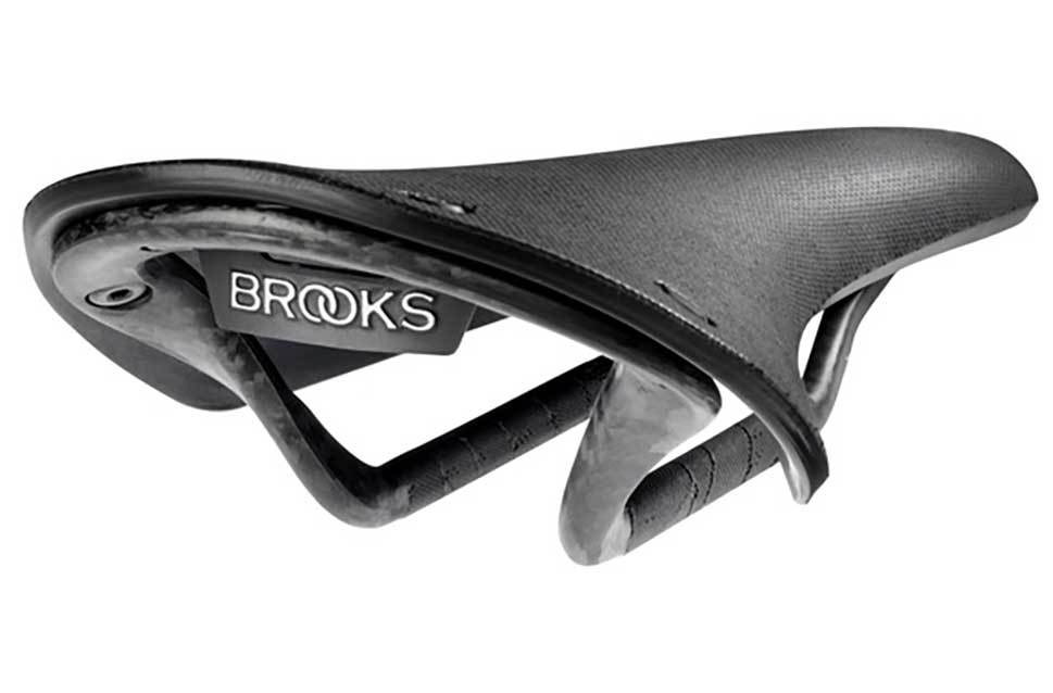Brooks Cambium Rubber Shell Bicycle Saddle