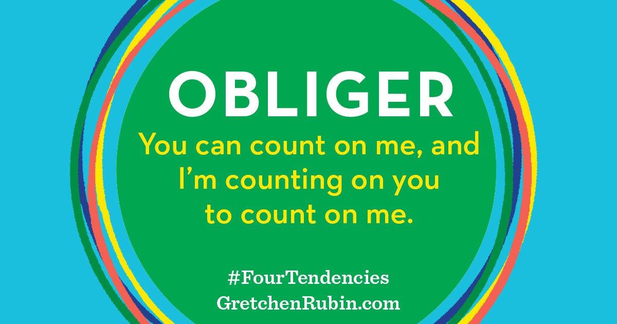 Obliger - Four Tendencies