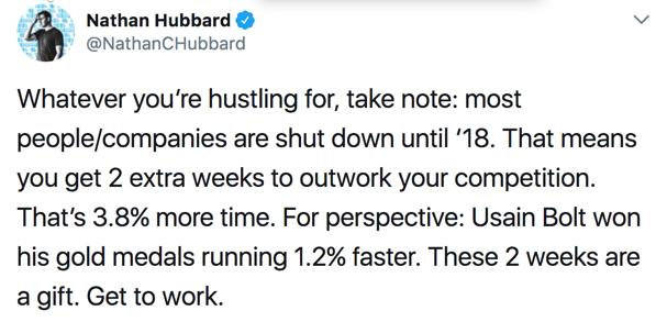 Nathan Hubbard tweet