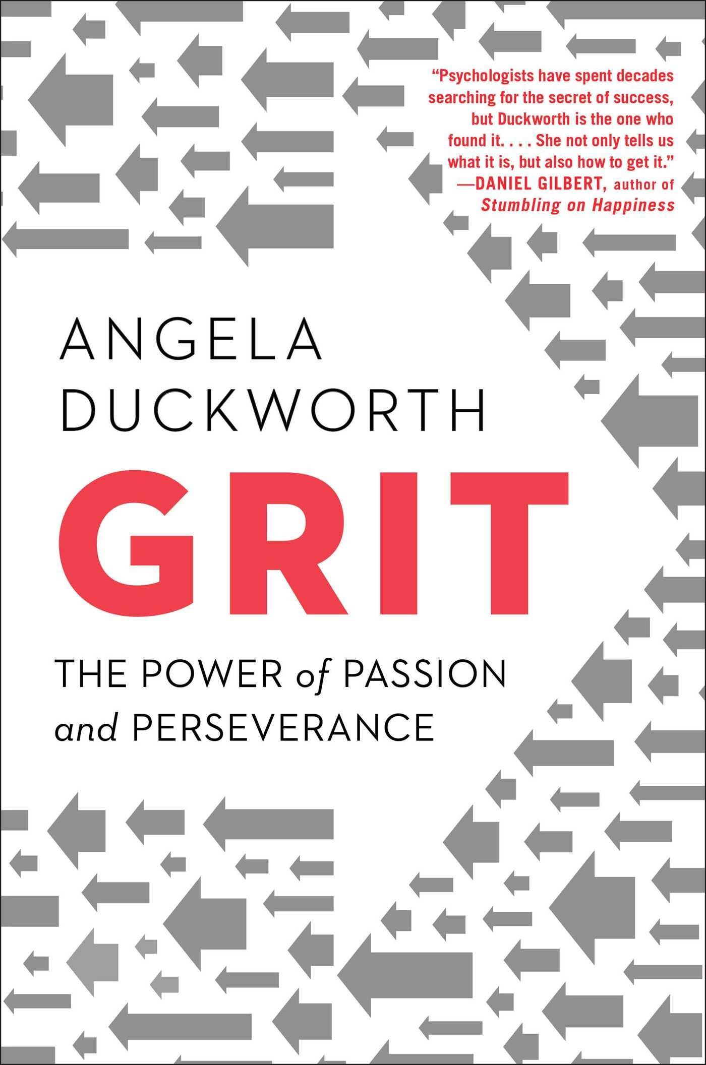 Grit Angela Duckworth Cover