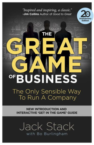 Great Game of Business Updated Cover Book Review