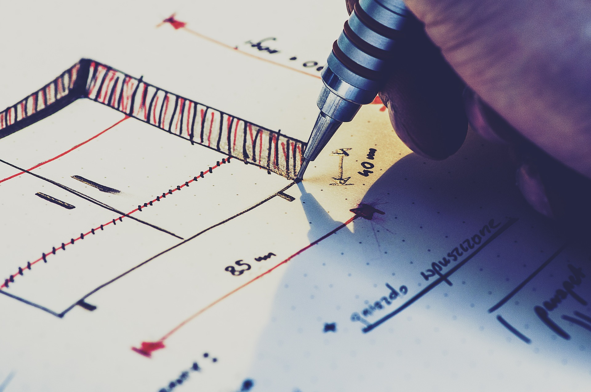 Design Thinking Drawing Hand