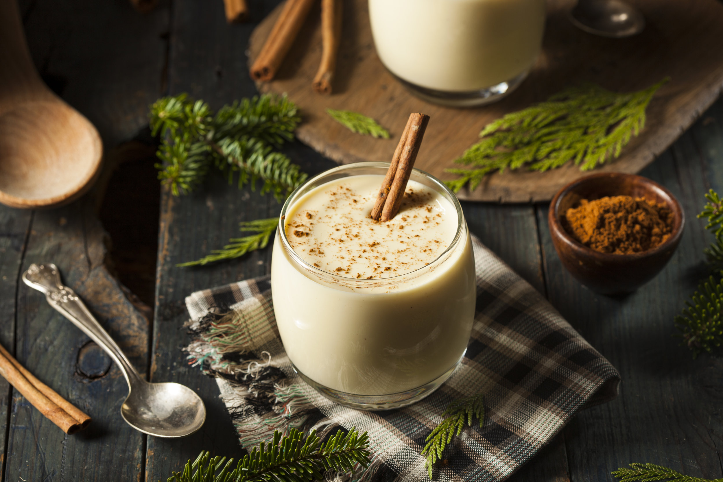 Science Eggnog Recipe