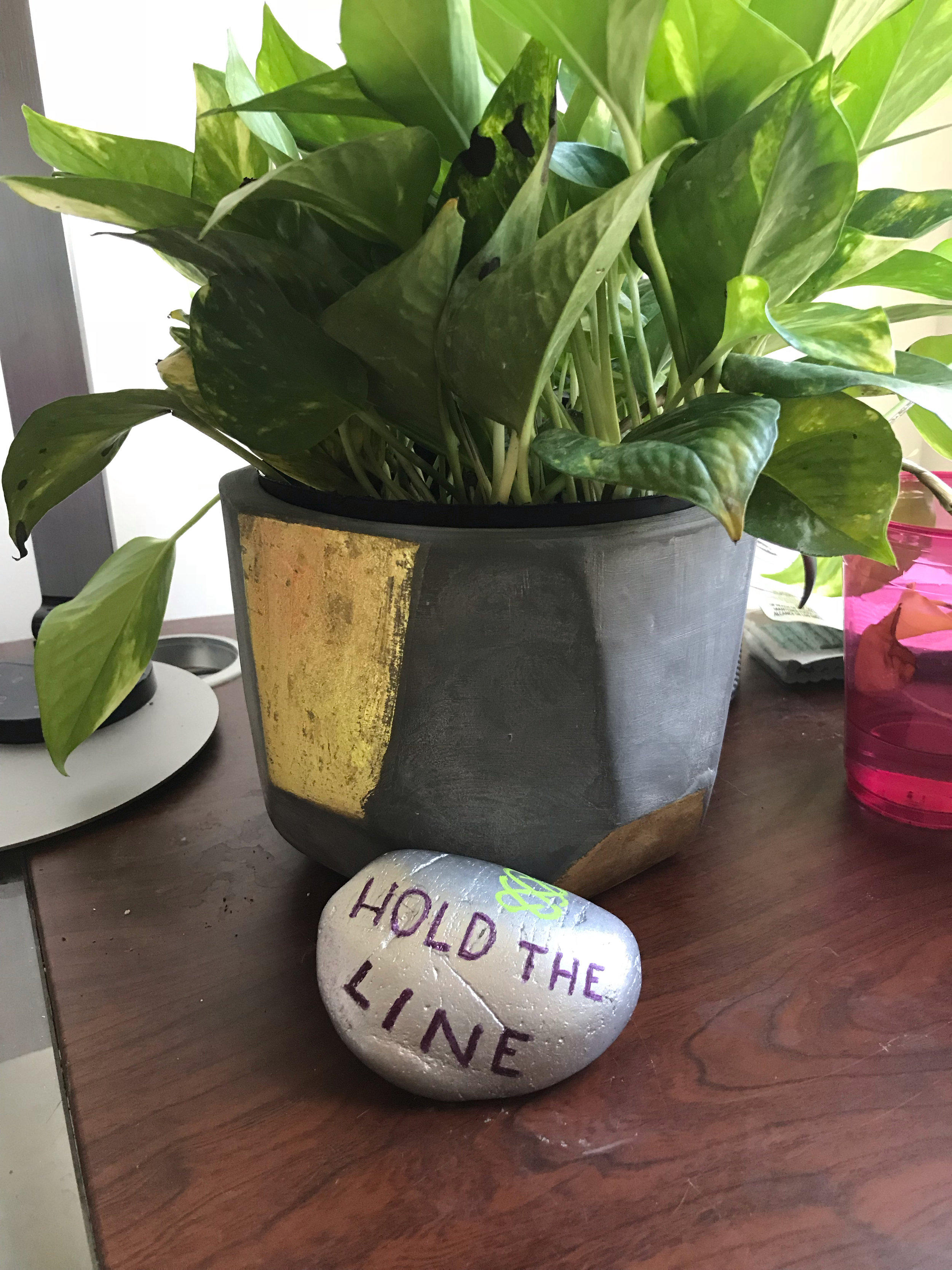 Core Values Award Hold the Line 2018