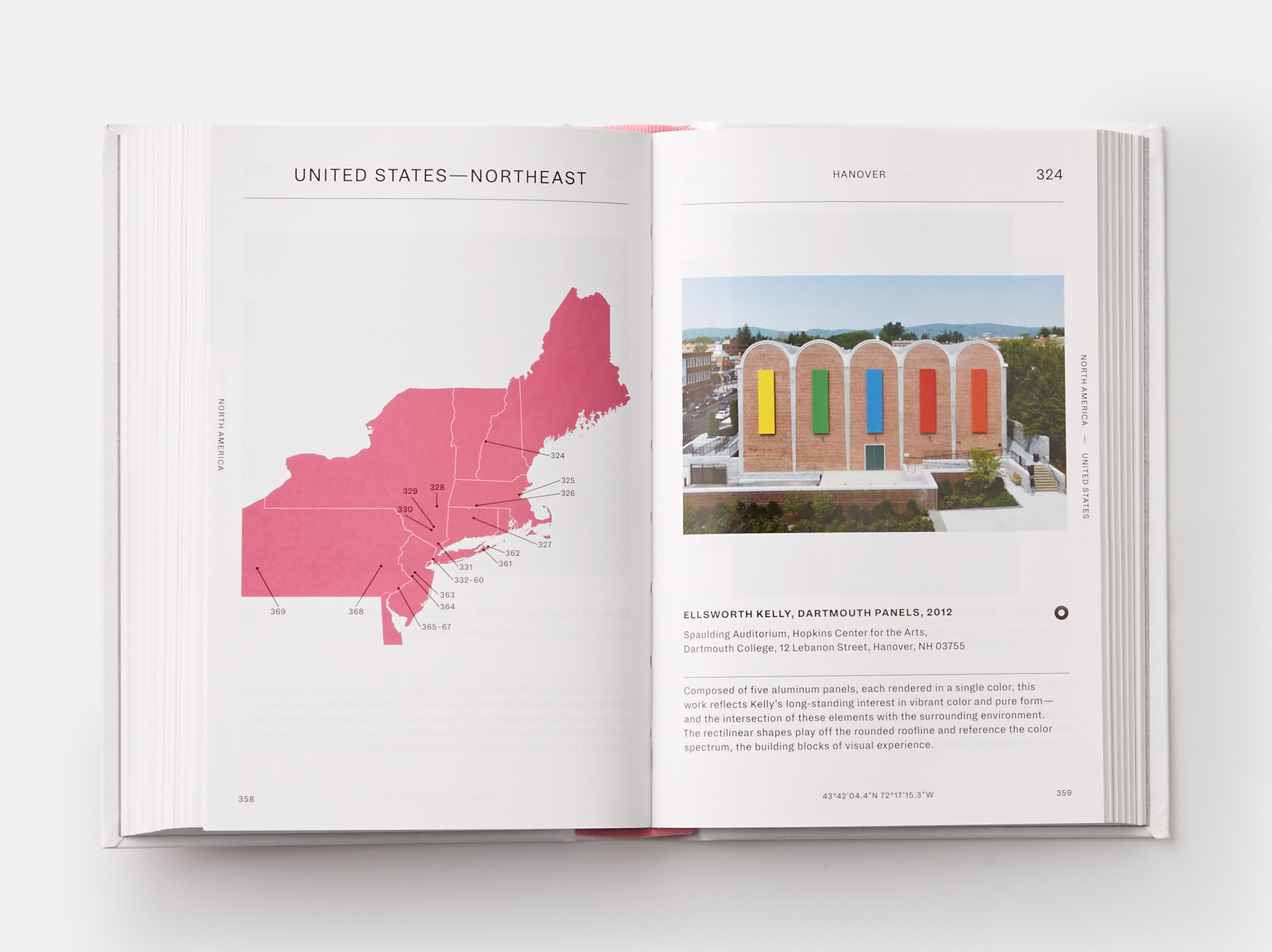 Phaidon Destination Art Page USA NE