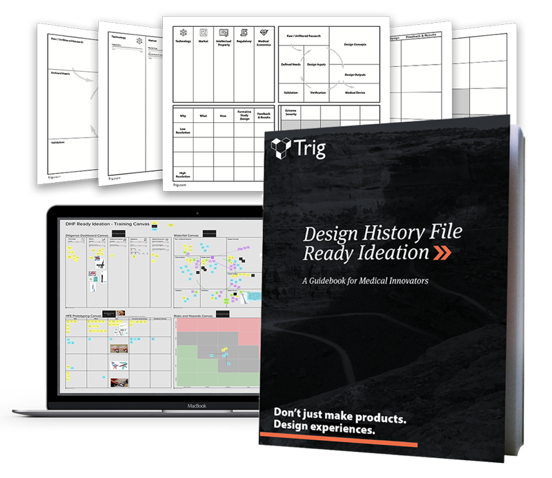 Design History File Ready Ideation Guidebook Canvas Virtual