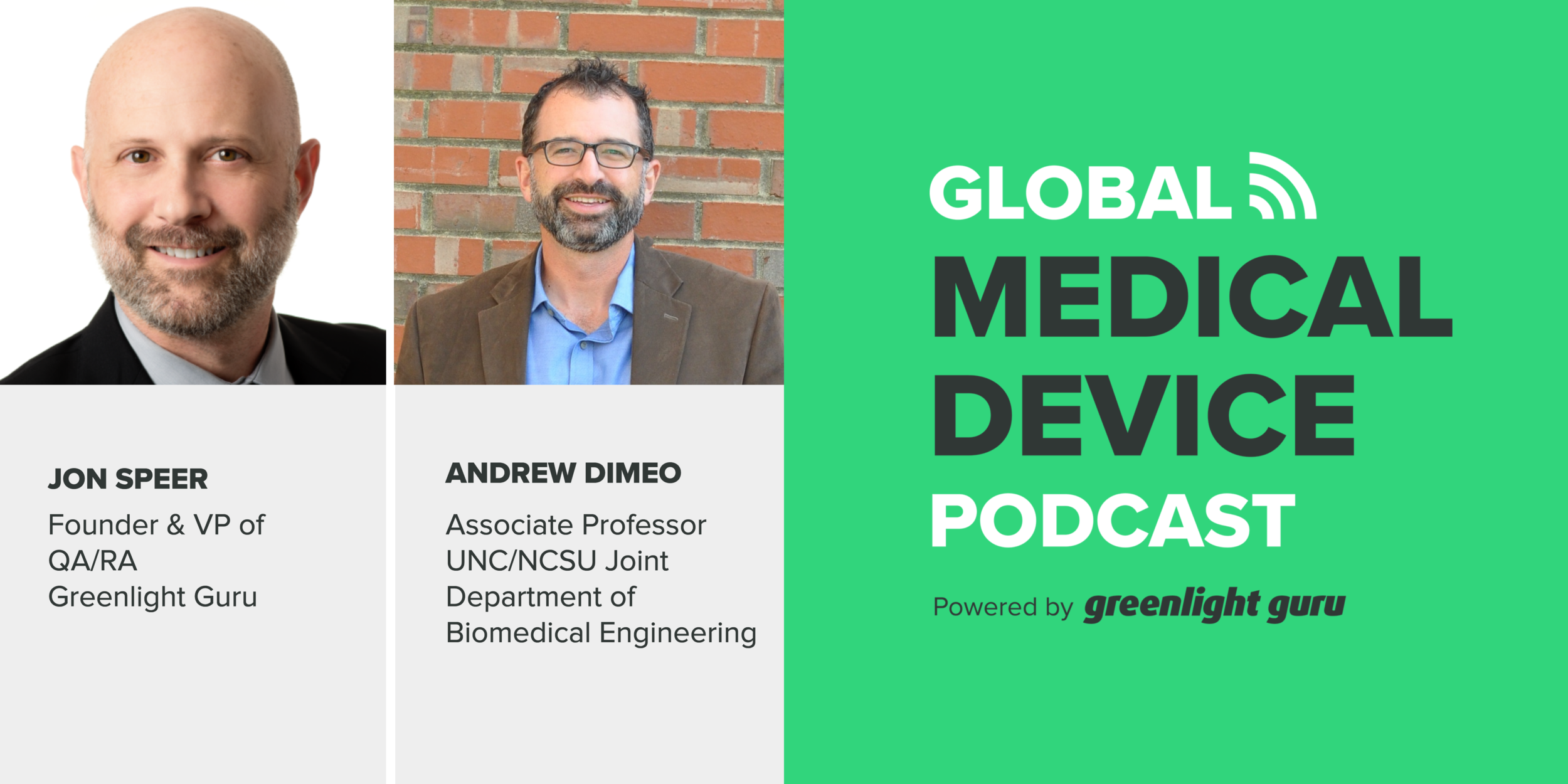 Andrew DiMeo Global Medical Device Podcast