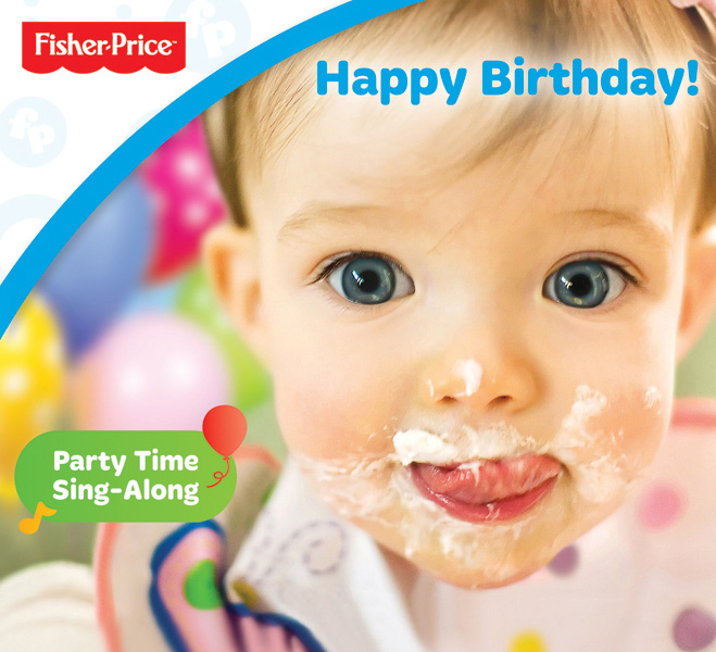 My niece graces the cover of this new Fisher-Price product. I took this photograph of her while she was eating birthday cake at her first birthday party a few years back.