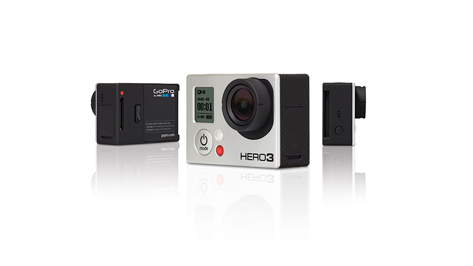 The tiny little GoPro camera captures high-definition video on the cheap. It is used by all television networks and it fits in the palm of a hand. It was made to capture Montana.