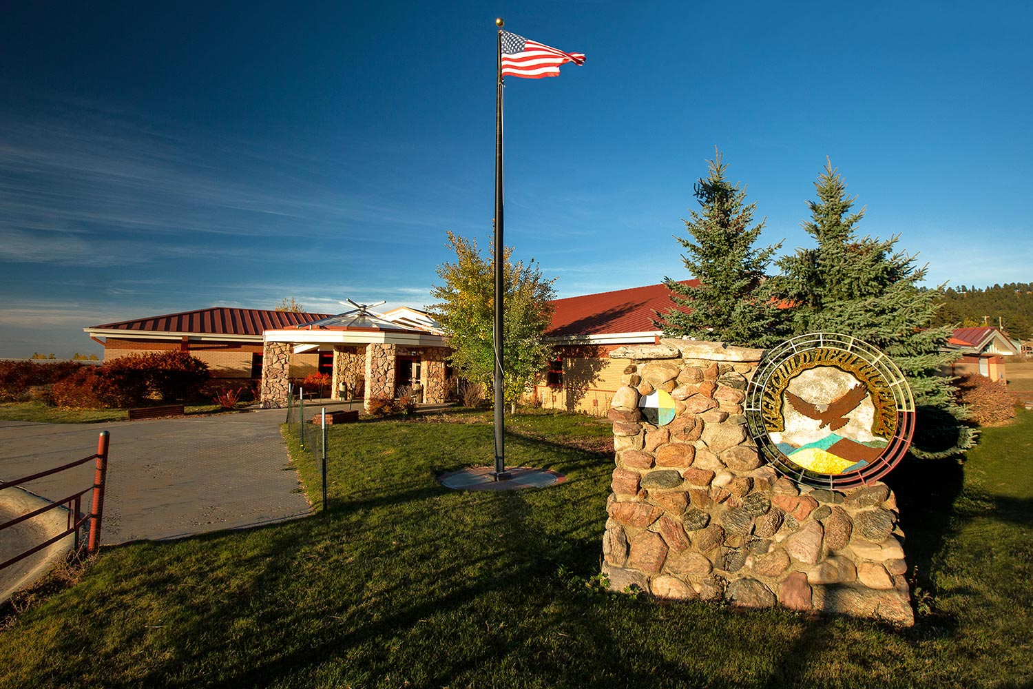 The Eagle Child Health Center in Hays, Montana.