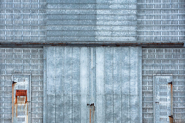 Cool Blue Steel Building