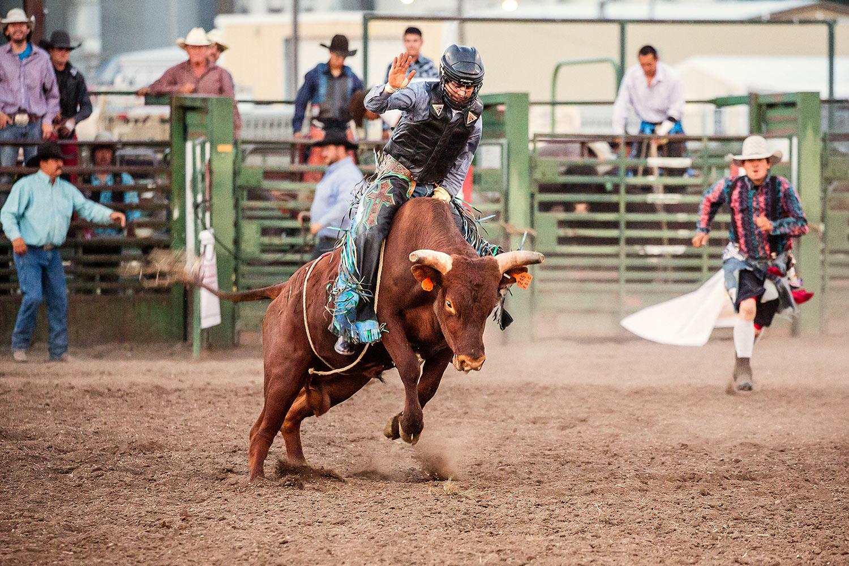 Riding a Bull
