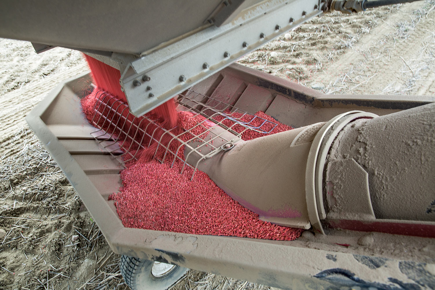 Feeding the Auger