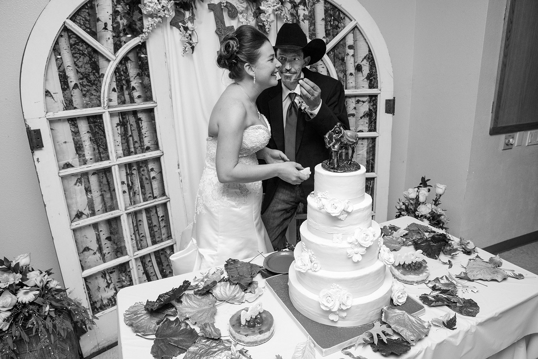 Feeding Her Cake