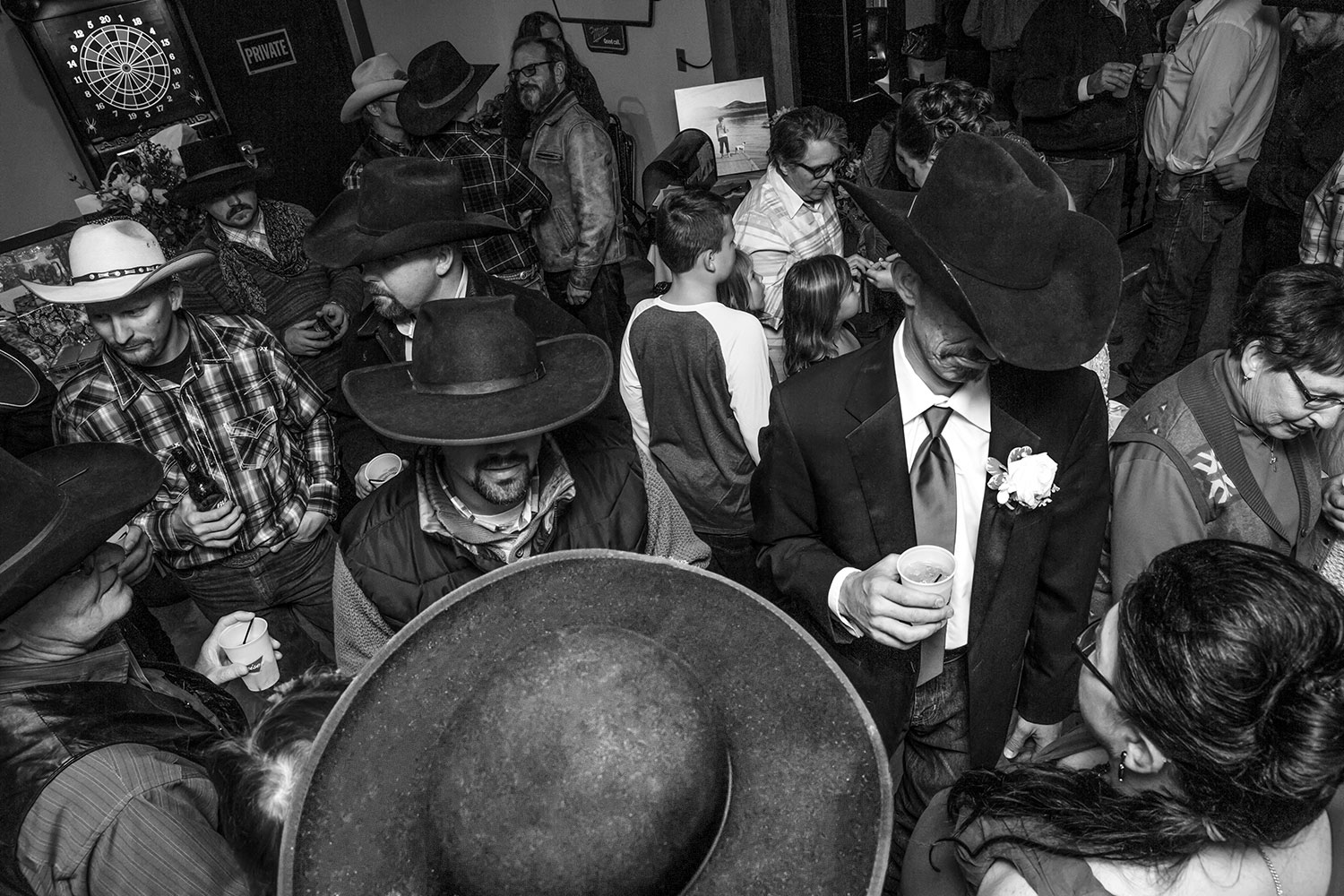 Crowd of Hats