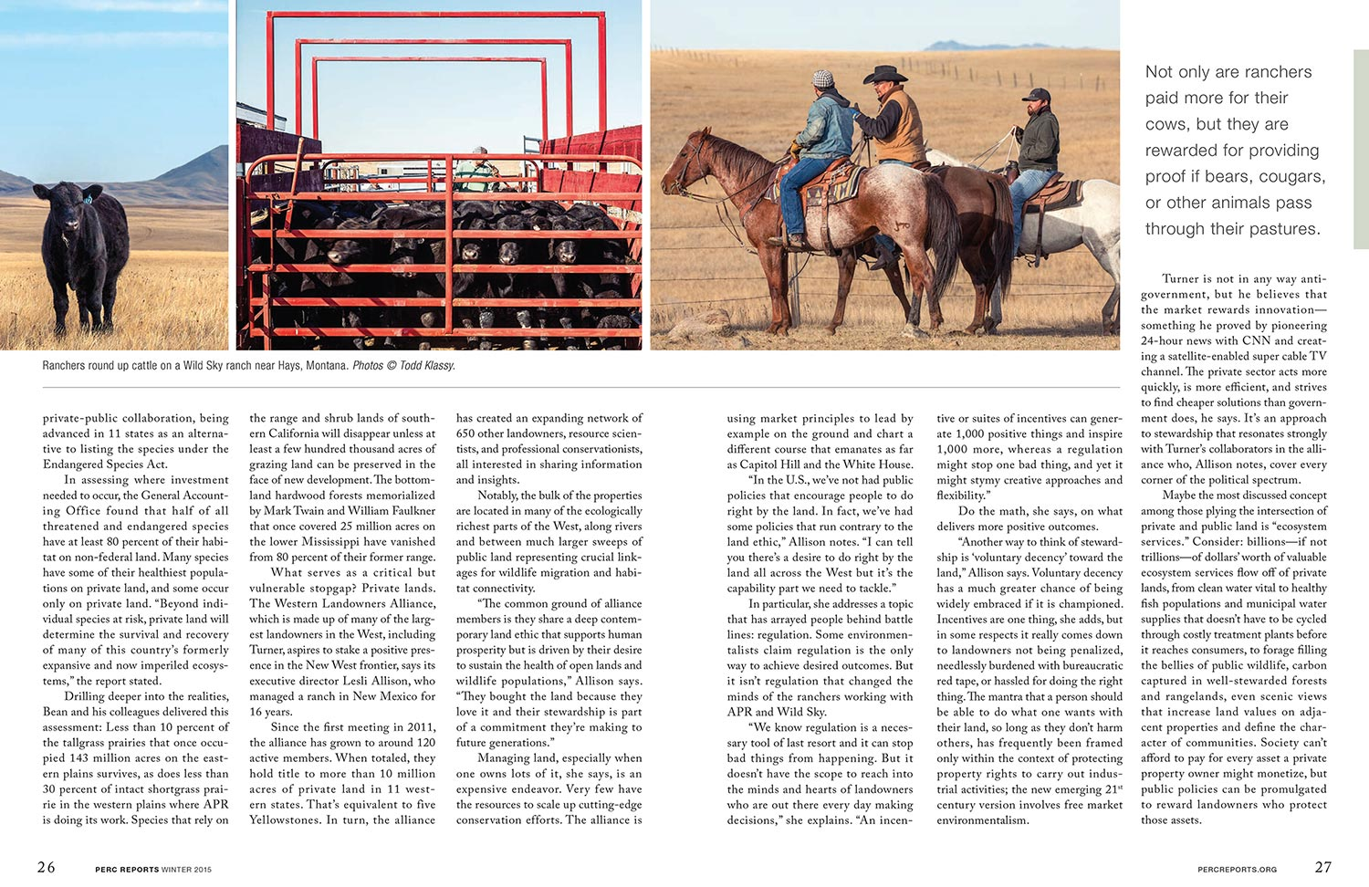 Published in PERC Reports Magazine