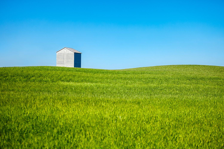 Barn Sits Alone
