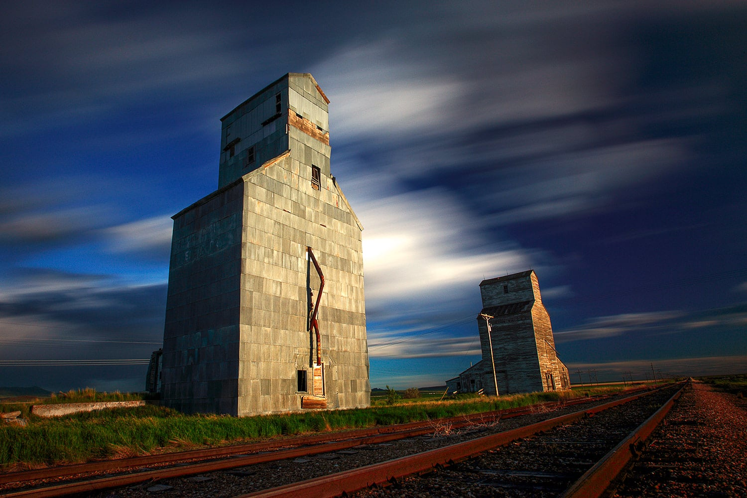 Old Grain Elevators