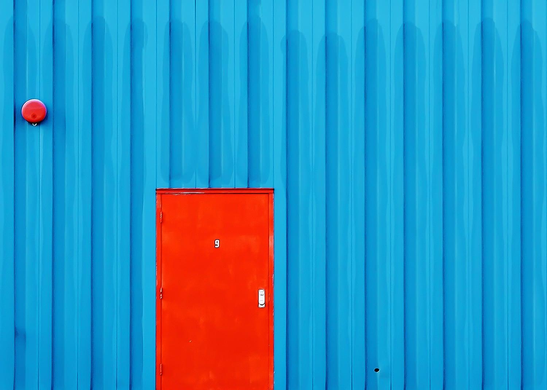 Red Door #9