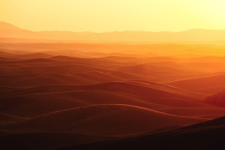 Sunrise Over Palouse