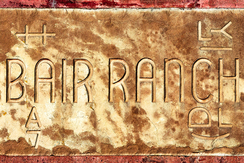 Bair Ranch Sign