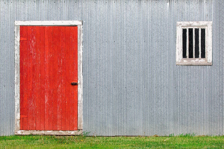 Red Door, Silver Wall