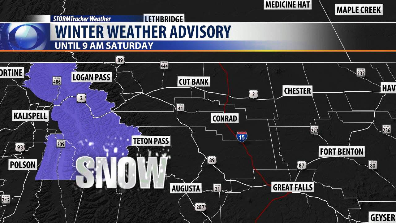 Winter Weather Advisory for Montana in Summer