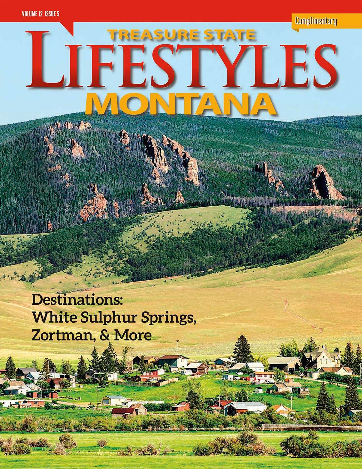 Todd Klassy Photography on the Cover of Montana Lifestyles Magazine
