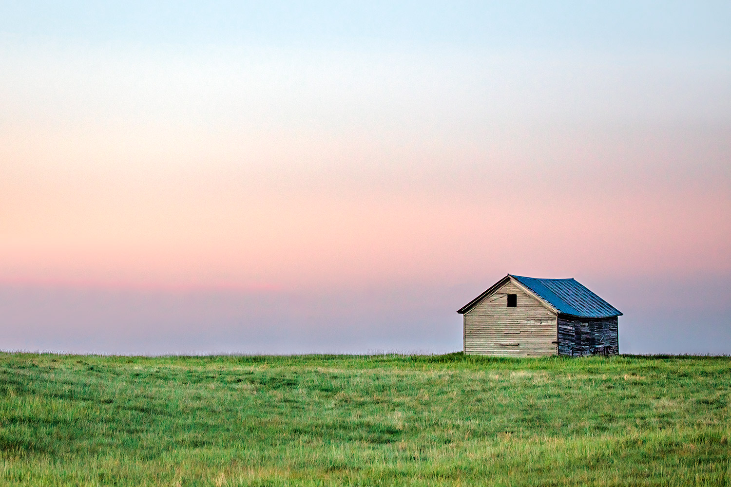 A lonely old shed stands watch over the eastern Montana plains near Baker, Montana.    → Buy a Print   or    License Photo