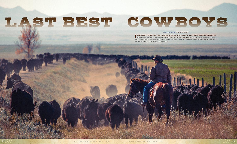 Photo Essay Cowboy Photographs Montana