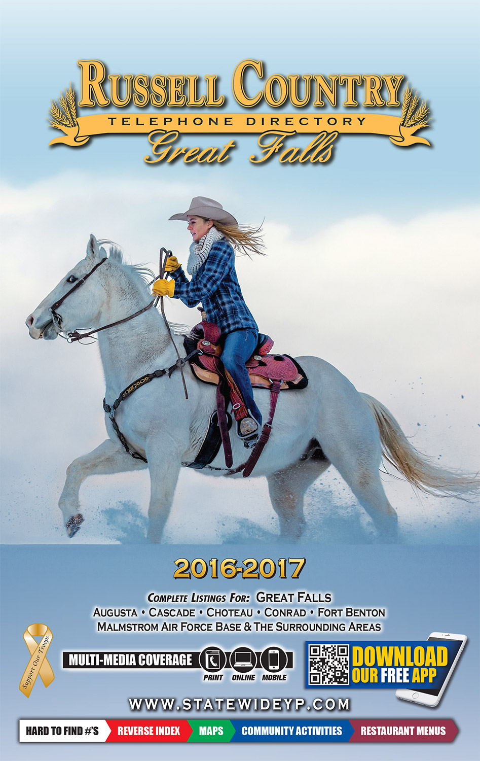 Agriculture Stock Photos And Commercial Photographer By Todd Klassy Photography My Blog Cowgirl In Snow Photo Published On Telephone Directory