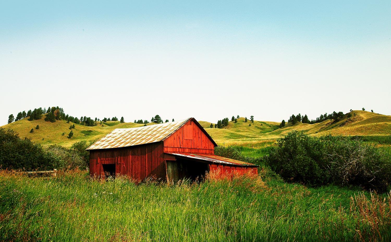 Beaver Creek Park Red Barn