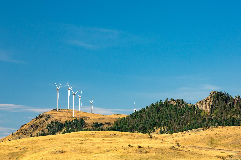 Gordons Butte Turbines