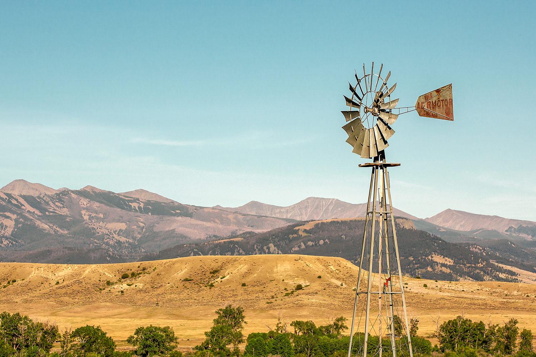 Crazy Mountain Windmill