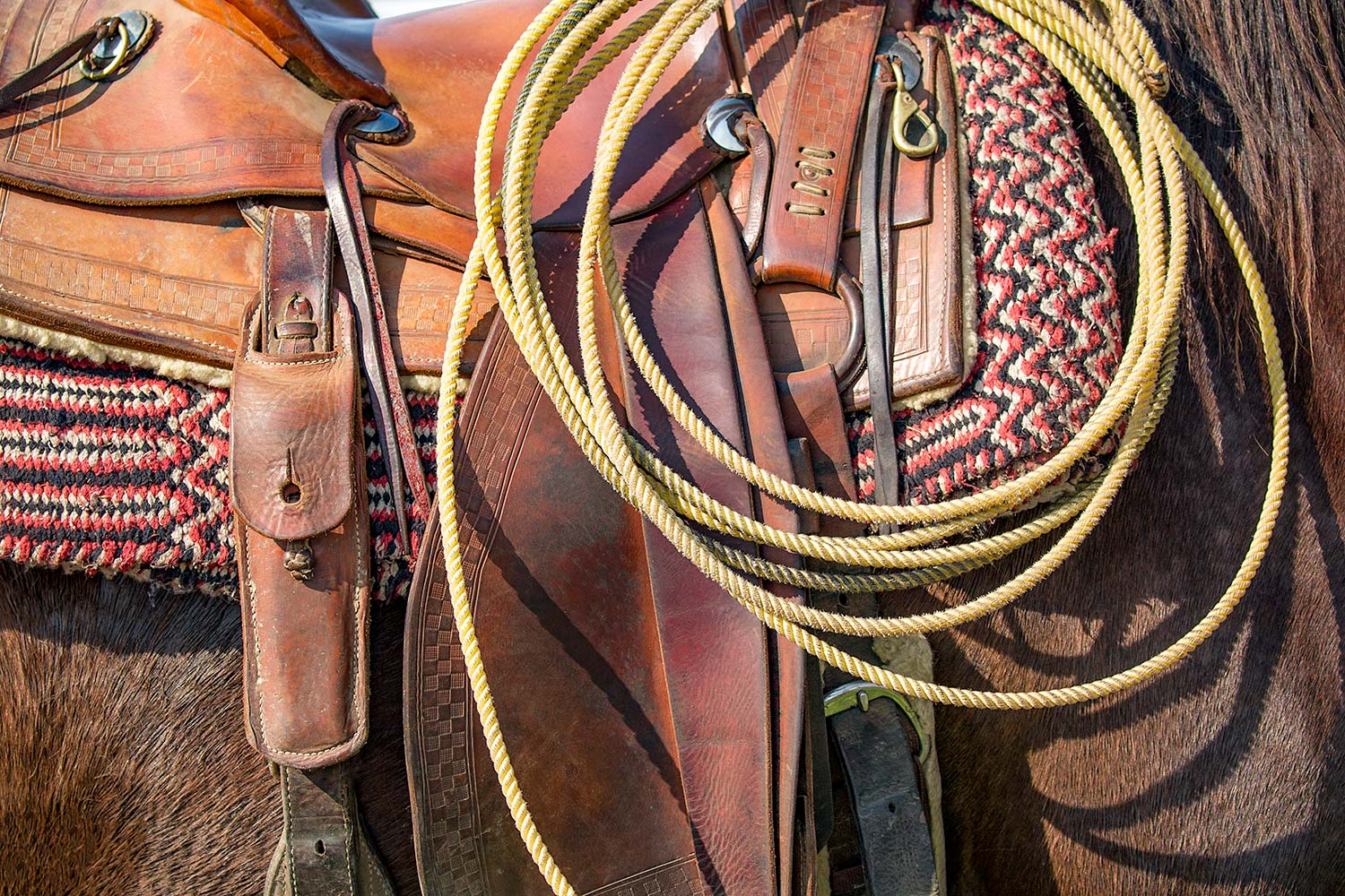 There are many different companies making horse tack in Montana. Consider buying something from them this Christmas for the cowboy or cowgirl on your list.