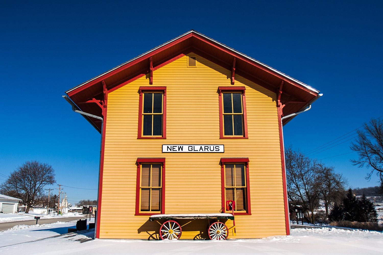 New Glarus Depot