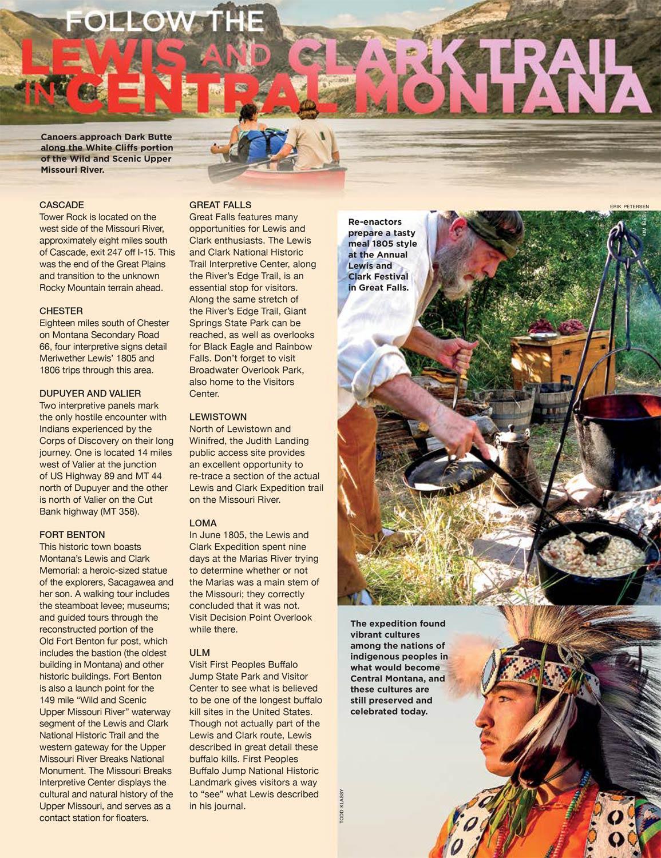 2017 Central Montana Travel Planner