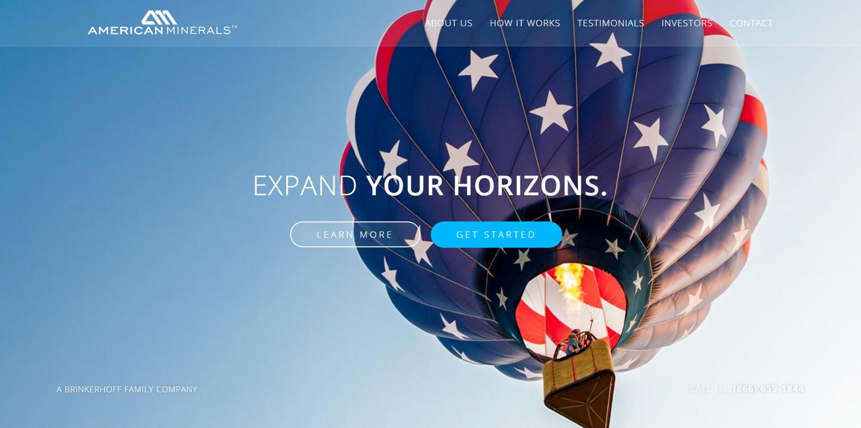 American Minerals Website