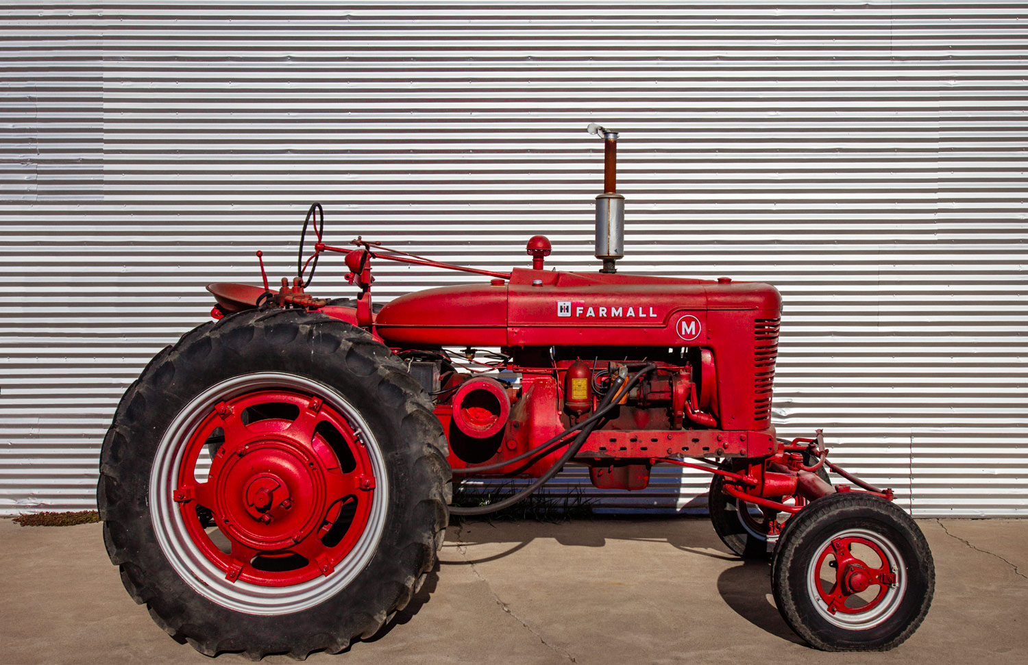 Farmall M and Steel