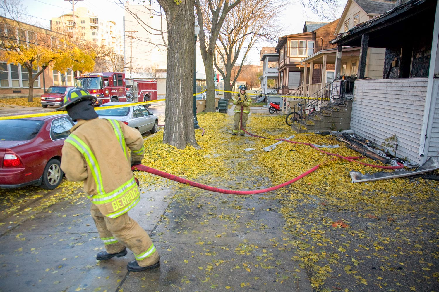Pulling the Fire Hose