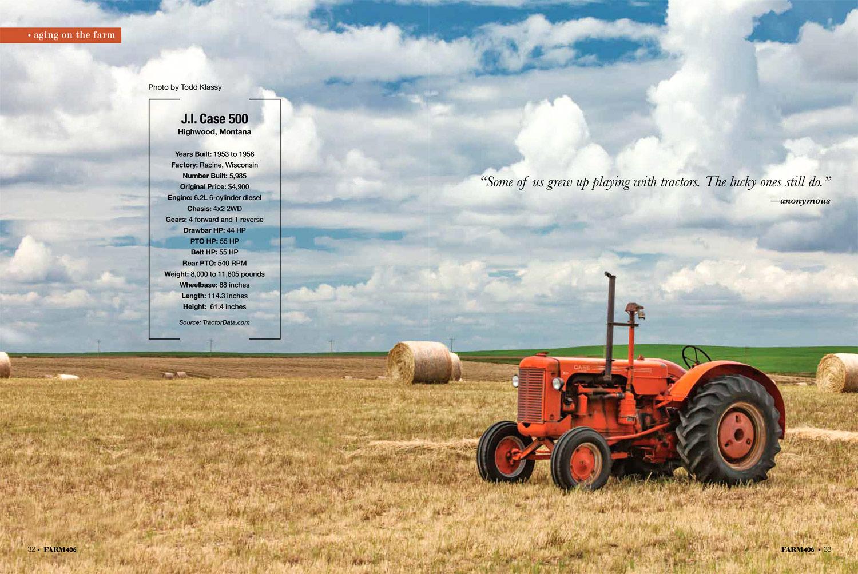 Farm406 Two-Page Spread
