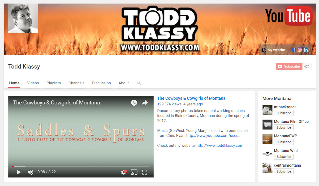 Todd-Klassy-Photography-Montana-Photos-and-Agriculture-Photographer-on-YouTube-Channel