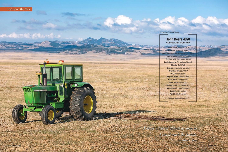Photo of a John Deere 4020 Tractor